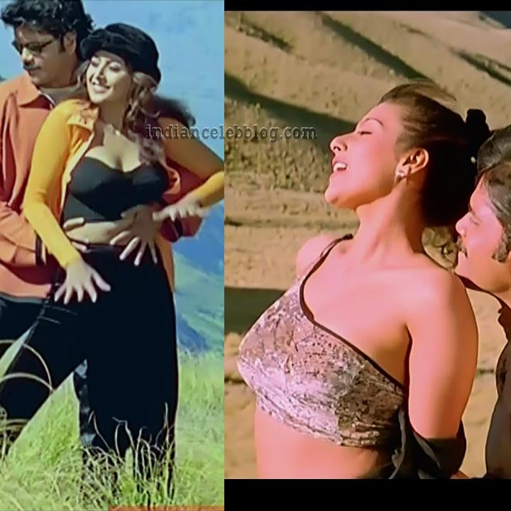 Heera Rajagopal Aavida maa avide hot song caps