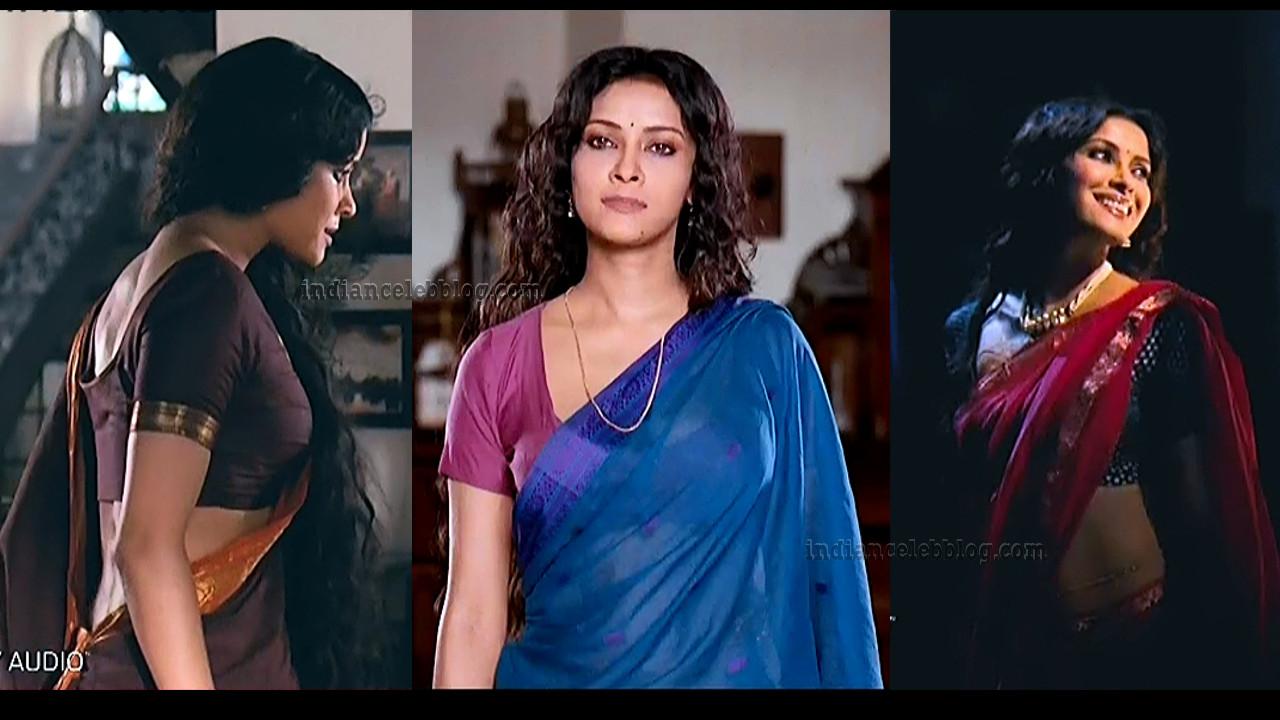 Nandana Sen bollwood actress hot caps in saree from Rang rasiya