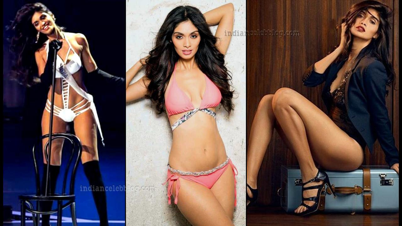Aafreen vaz Miss India Supranational 2015 hot Bikini Pics