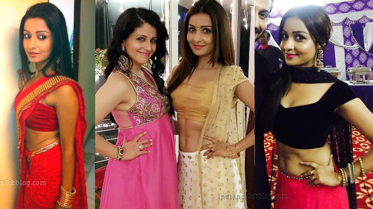 Chhavi Pandey TV actress hot Saree Lehenga Pics