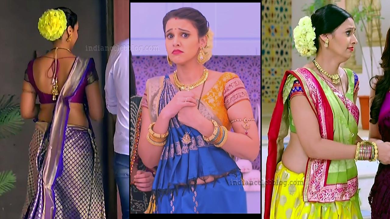 Astha agarwal hot backless saree photos