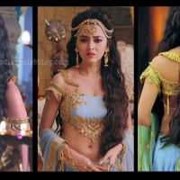 Tejaswi Prakash hot caps from Karn Sangini