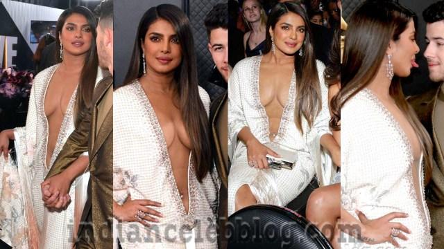 Priyanka chopra Jonas Grammy 2020 12 sexy cleavage show photos