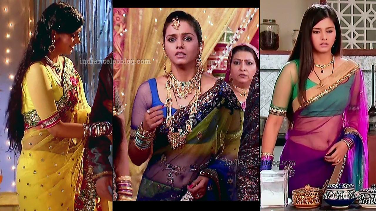 Daljeet kaur hindi tv actress hot transparent saree caps.