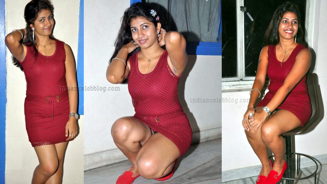 Affair movie actress Geethanjali thasya hot leg show in minidress.