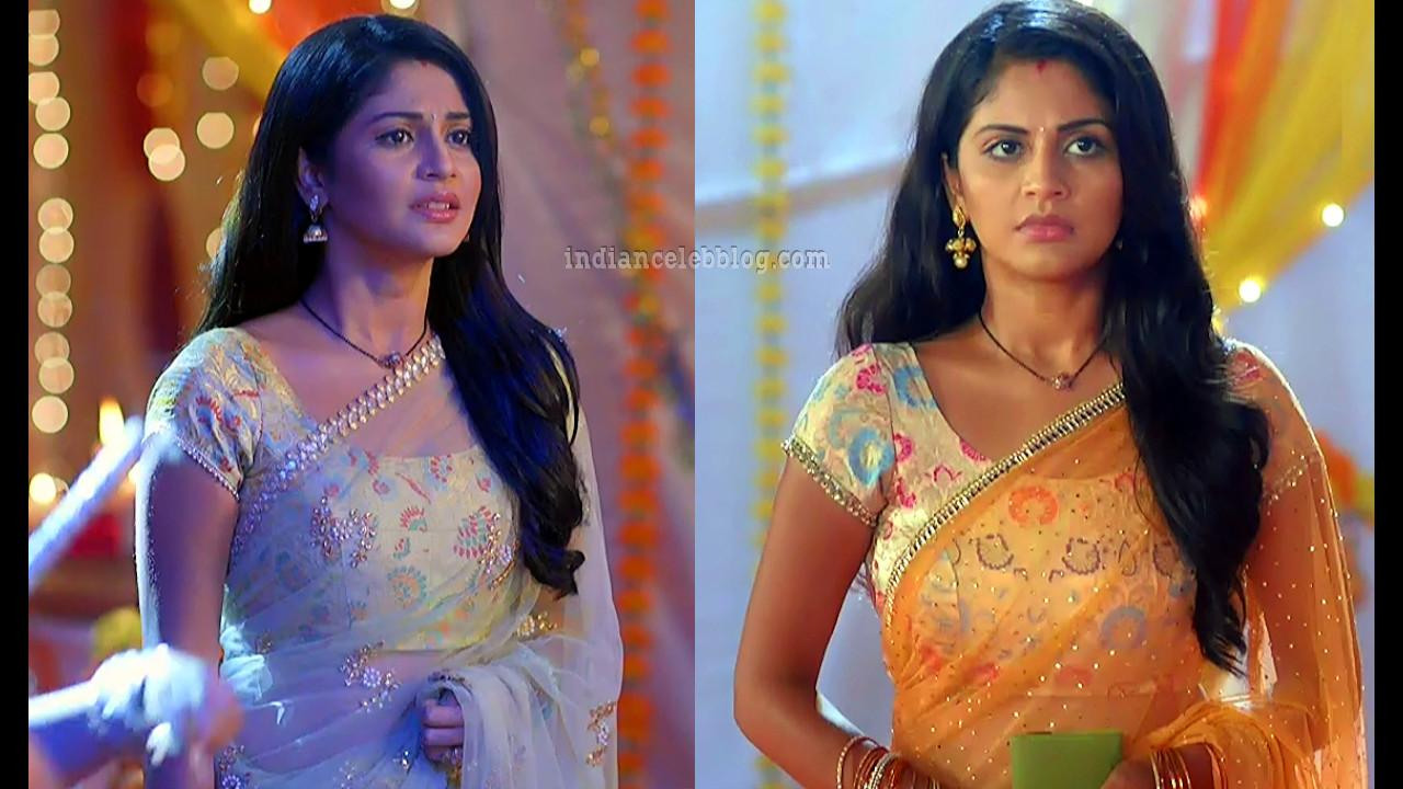 Megha chakraborty hindi tv celeb hot sari caps