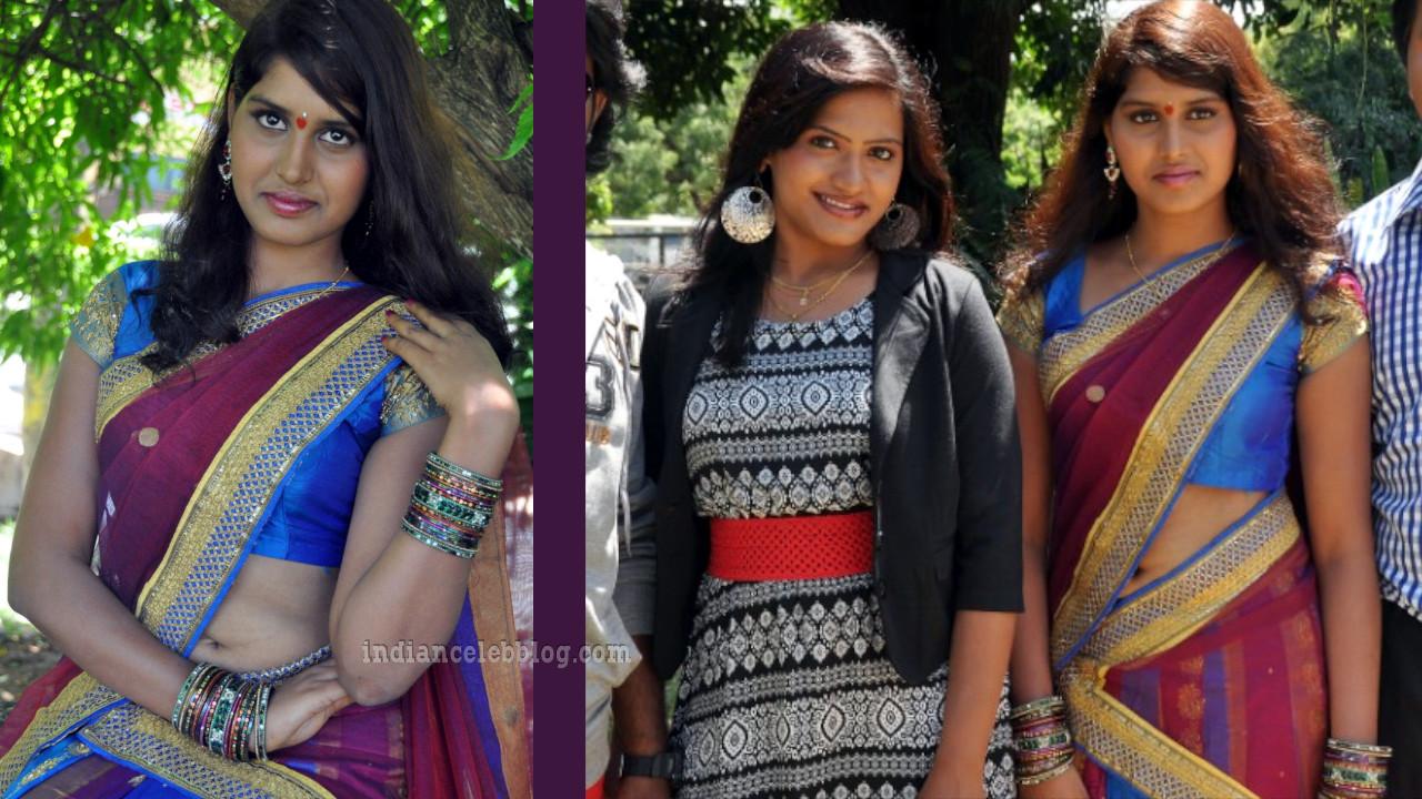 Tulasi telugu actress navel show in half saree event pics