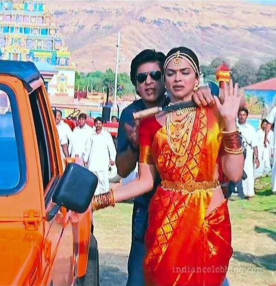 Deepika padukone chennai express S1 14 hot saree caps ...