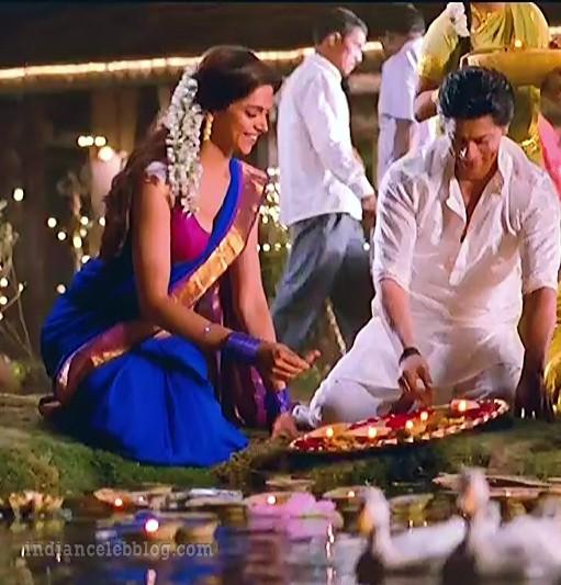 Deepika padukone chennai express S1 25 hot saree caps ...