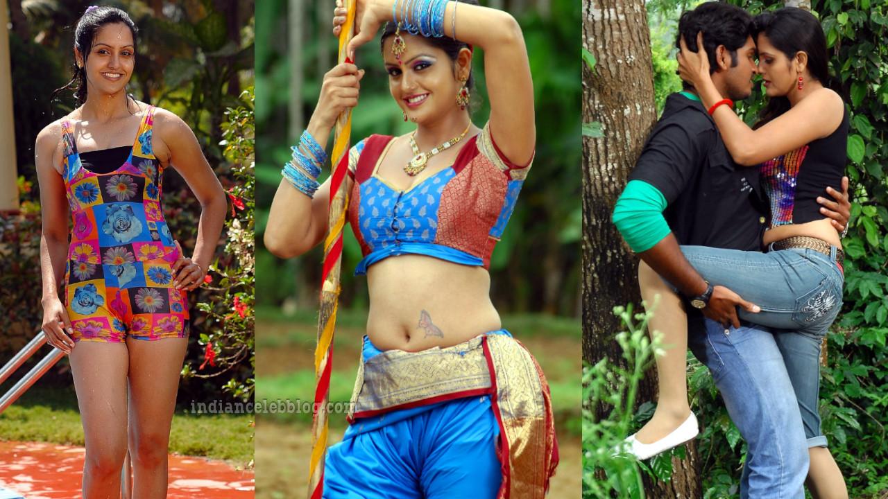 Gowri sharma telugu actress sexy navel show hot stills pics gallery