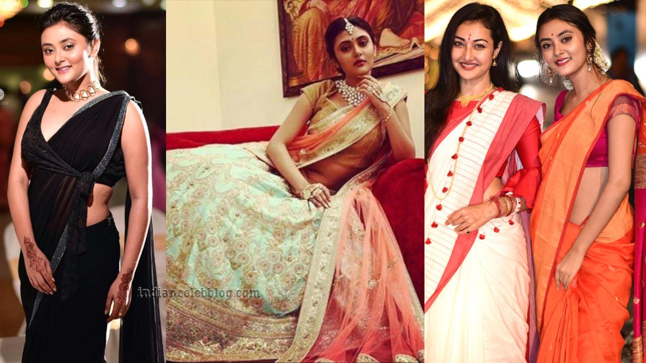 Megha chowdhury south actress social media photos in sari