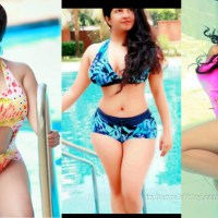 Sandalwood actress Shubha poonja hot swimsuit pics