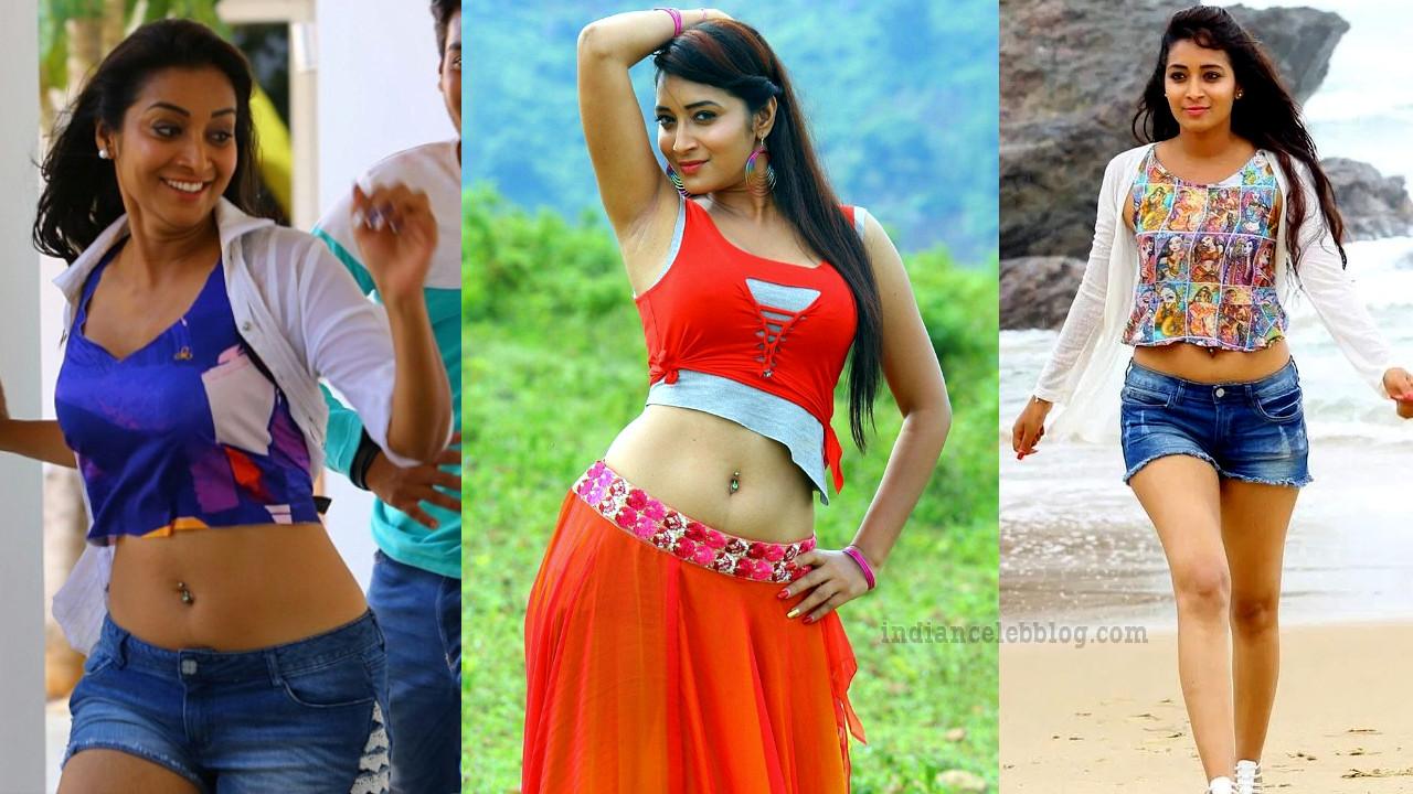 Bhanu sree telugu actress hot pic in sleeveless crop top