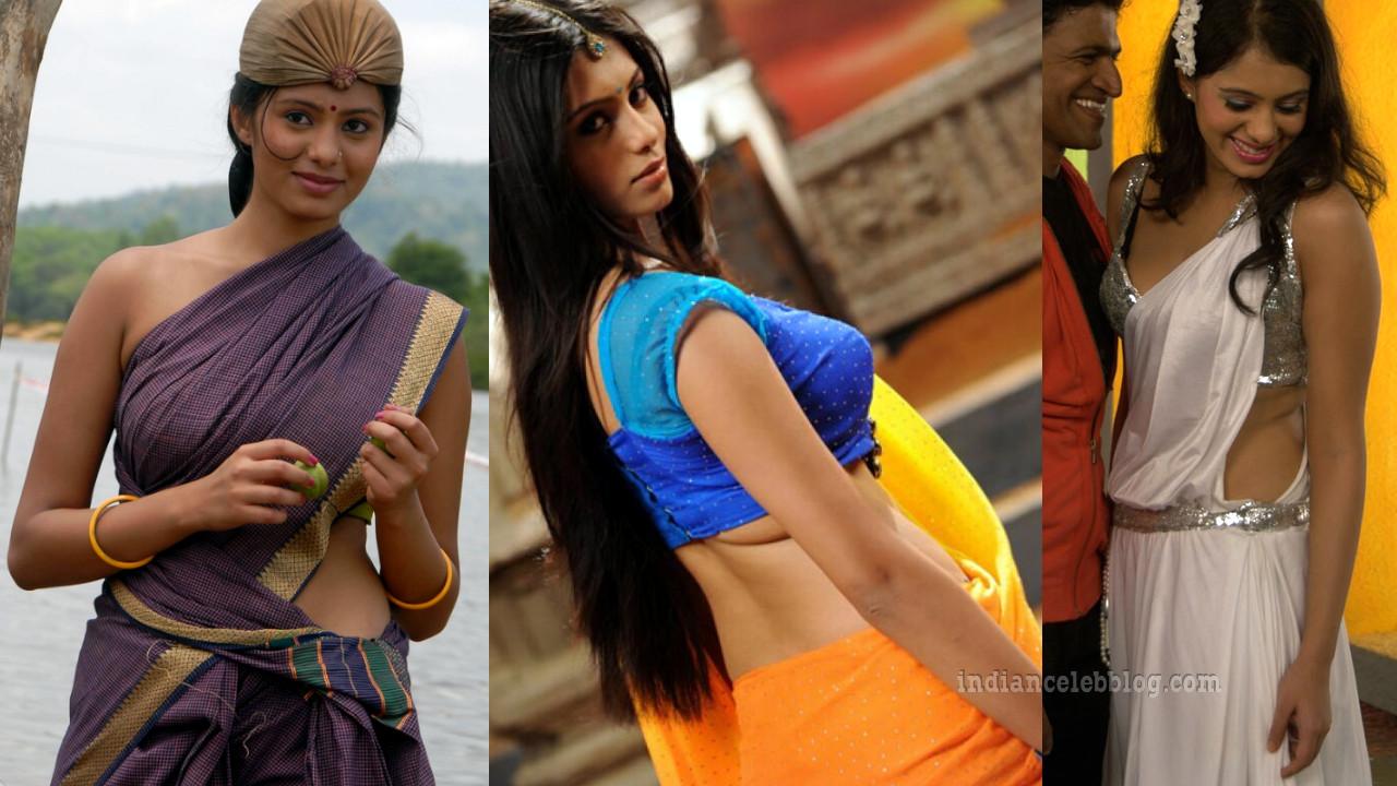 Deepa sannidhi kannada actress hot saree pics