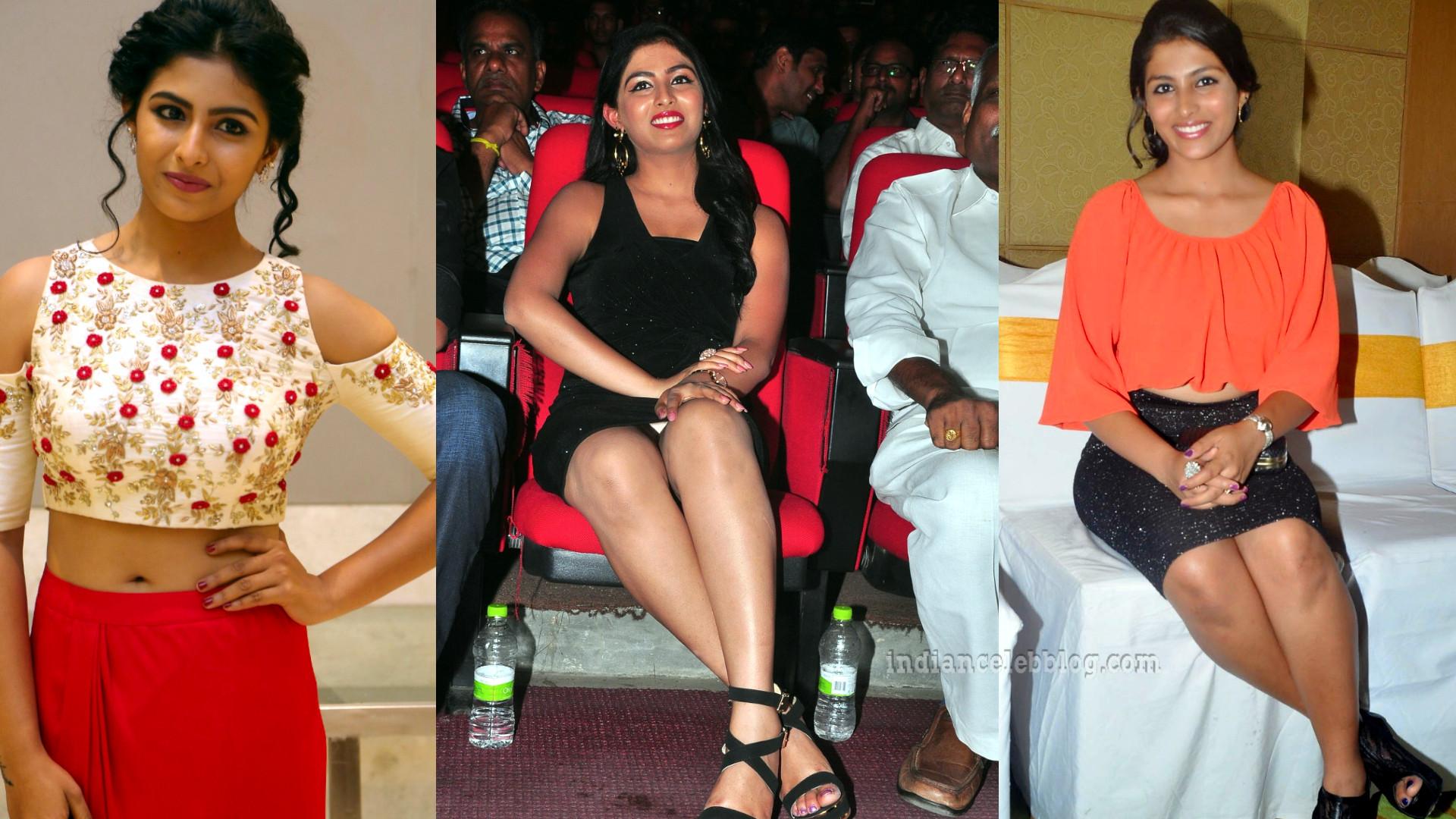 Kruthika jayakumar sandalwood celeb event pics in short skirt