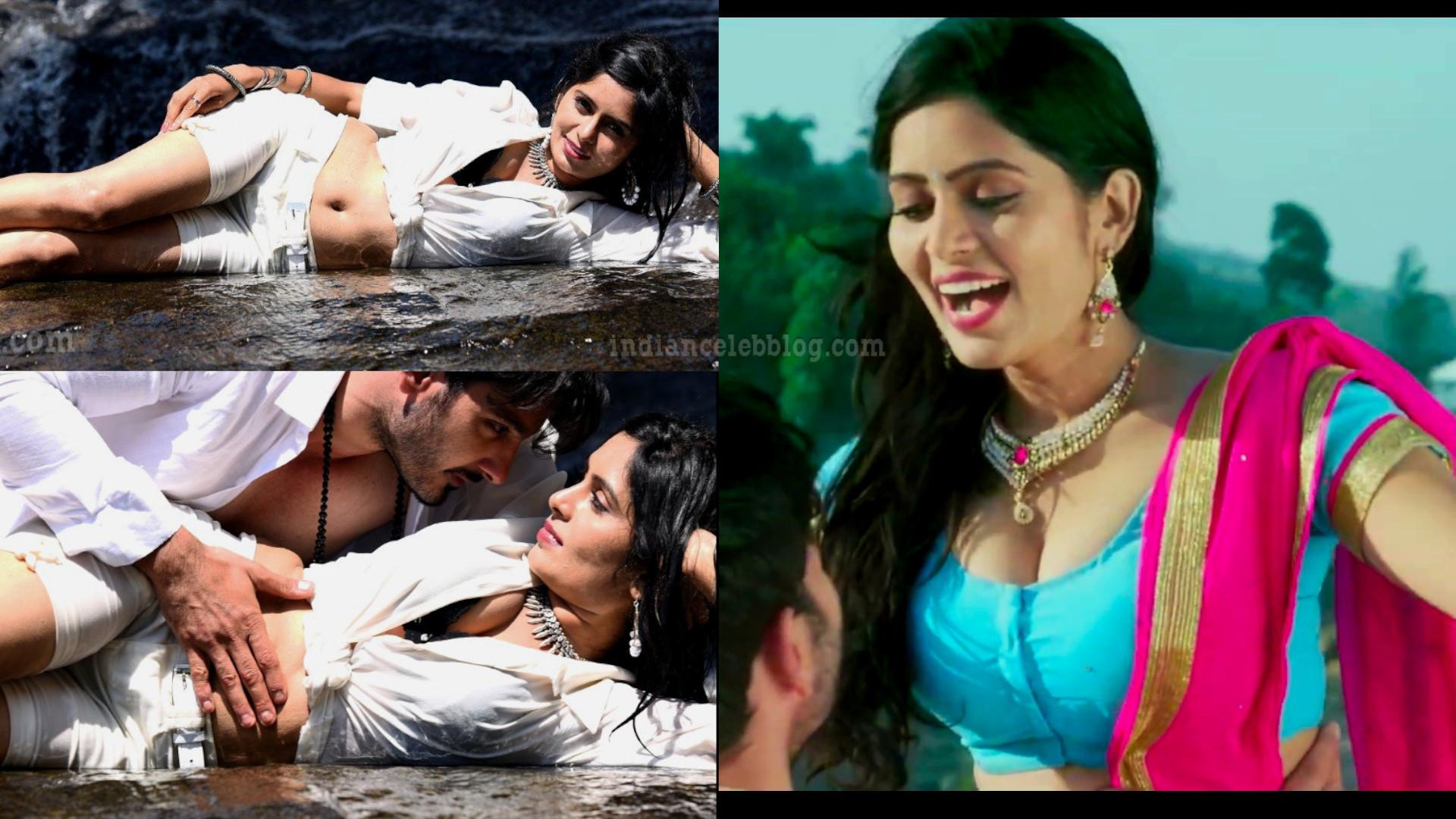 Madhumitha krishna south actress hot cleavage show