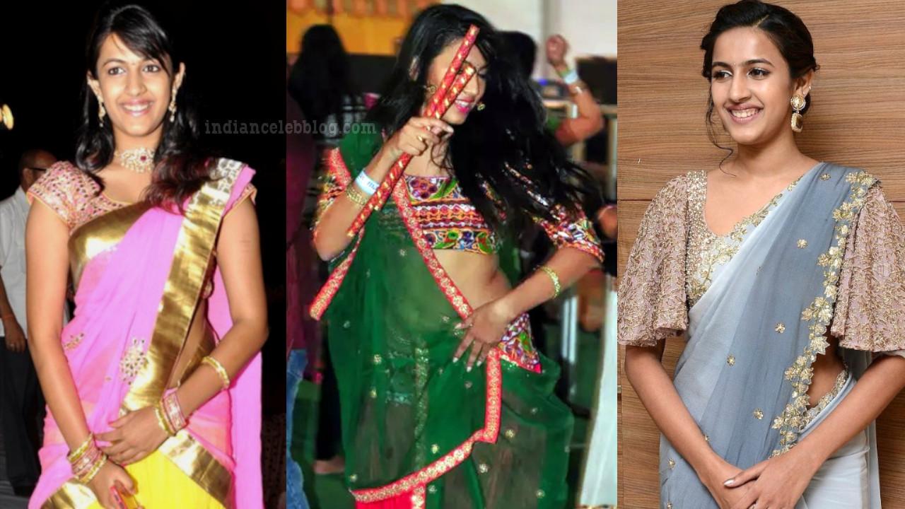 Niharika konidela telugu actress event pics in saree