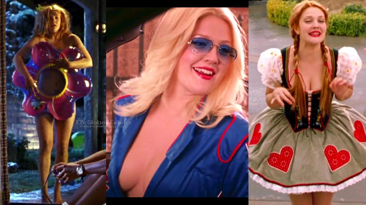 Drew barrymore hot pics charlie's angels screencaps