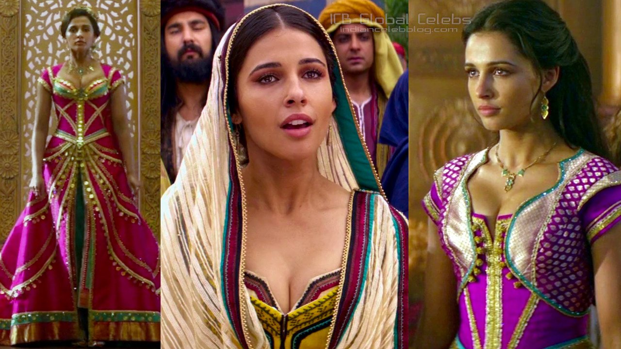 Naomi scott hot pics hd screeshots from aladdin