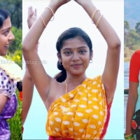 Varsha bollamma kollywood movie caps in half saree
