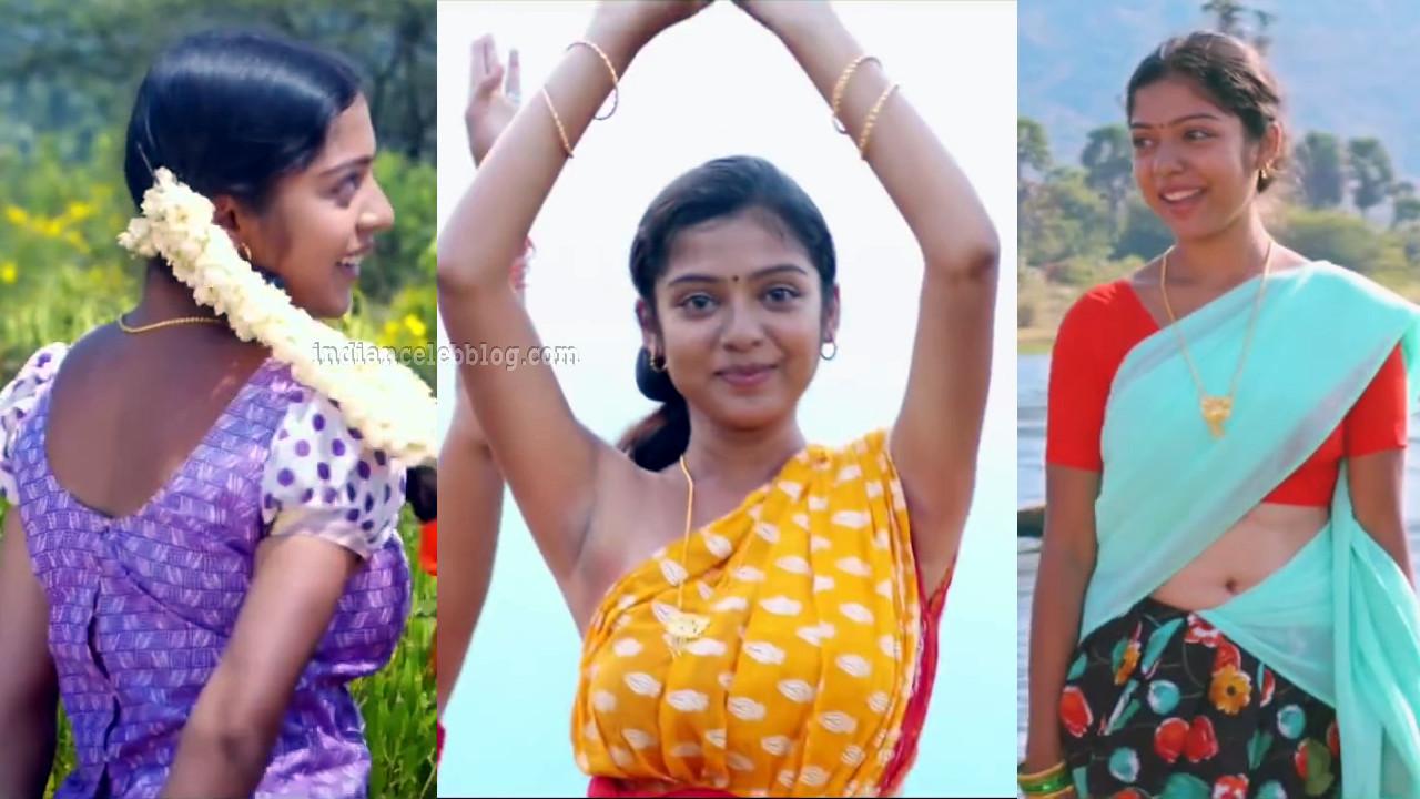 Varsha bollamma kollywood movie caps in half saree