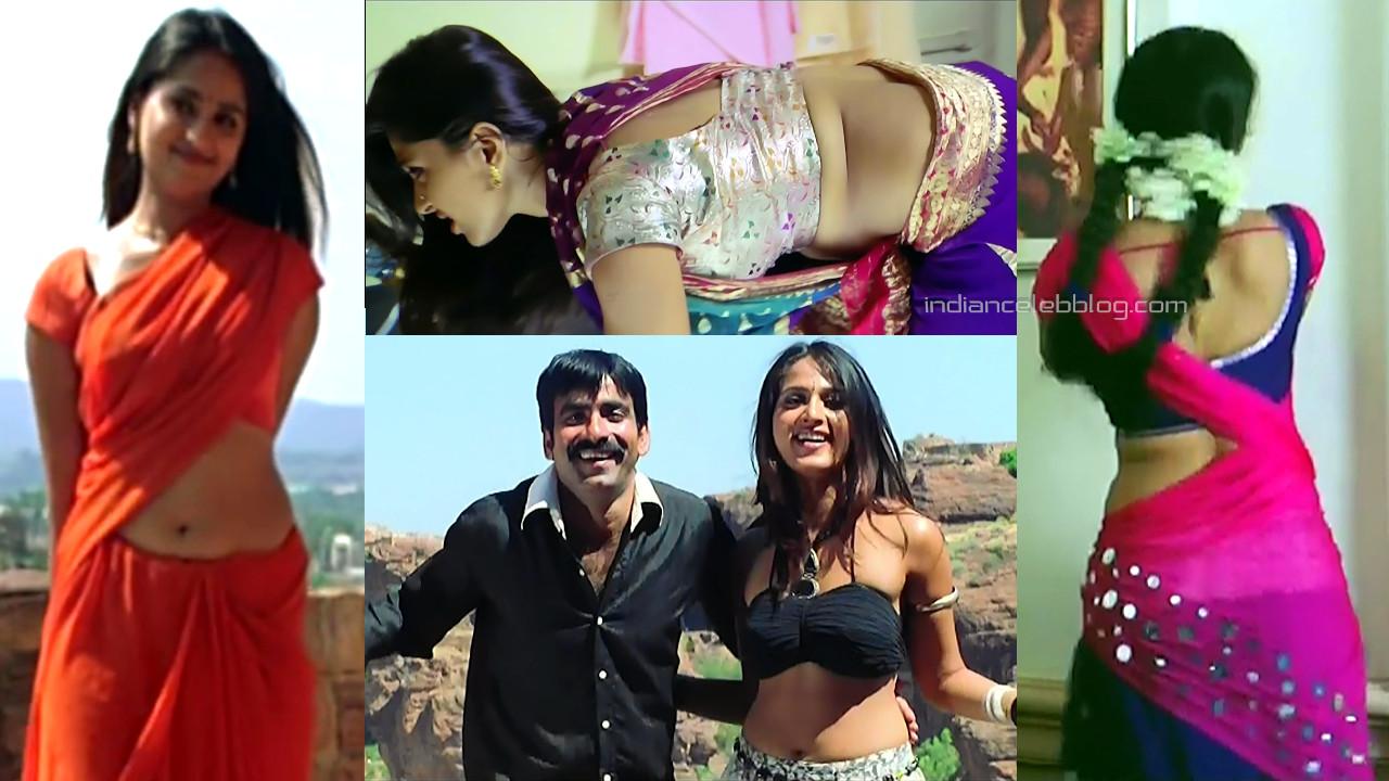 Anushka shetty tollywood hot saree navel show hd caps