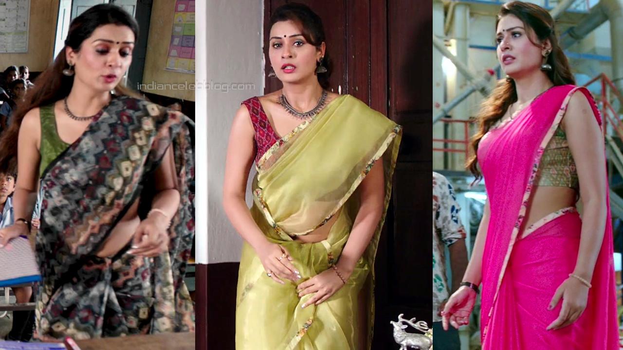 Payal rajput telugu movie hot sleeveless saree hd caps