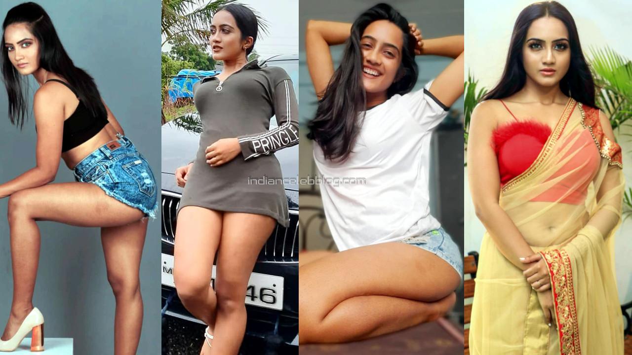 Amika shail hindi tv actress flaunts sexy thighs in short dress pics