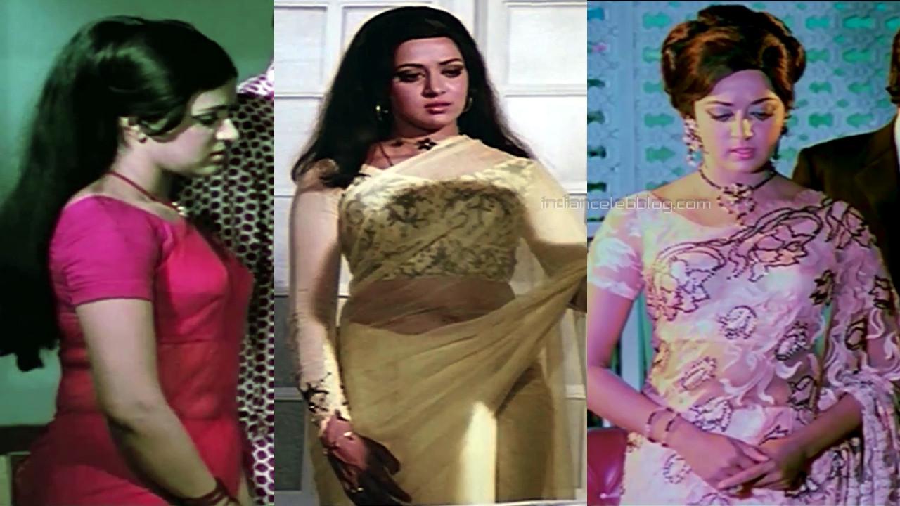 Hema malini yesteryear bollywood actress hot sari photos