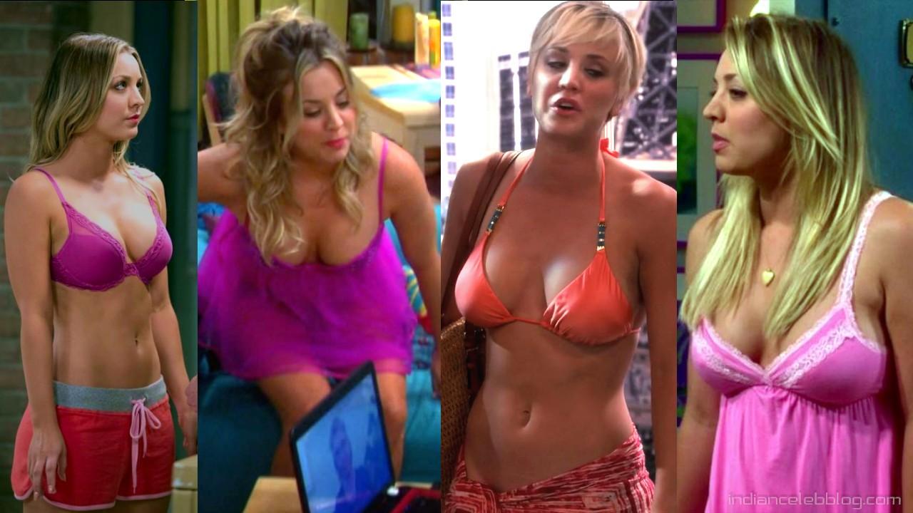 Kaley cuoco Big bang theory actress hot pics hd screencaps