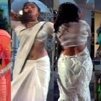 Madhuri dixit hot sari navel show hd movie caps