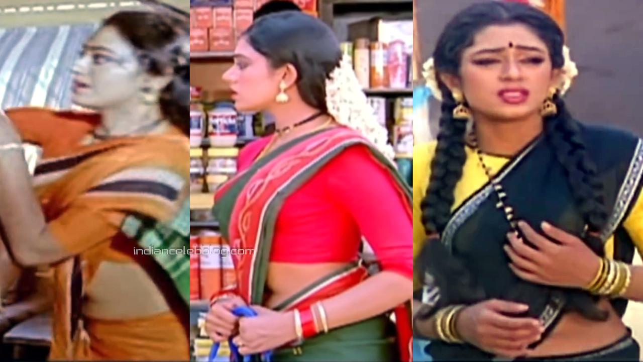 Shobana tamil actress hot saree navel show hd caps