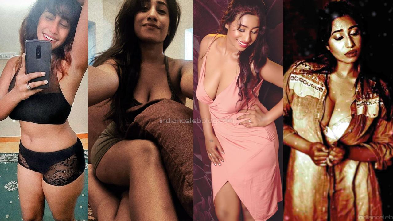 Aishwarya palani tamil actress hot cleavage show web shared stills
