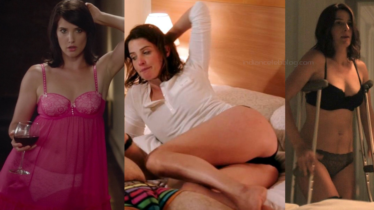 Cobie smulders how i met your mother actress hot lingerie photos