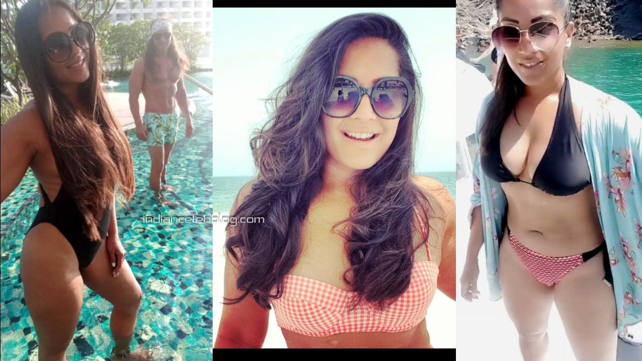 Meghna naidu shared her hot photos swimsuit vacation pics