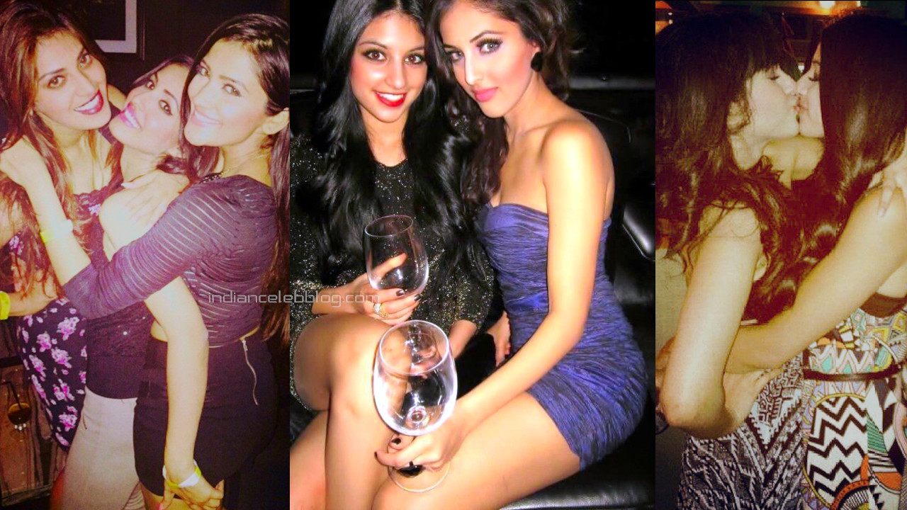 Priya banerjee bollywood actress shared her party pics on the web.
