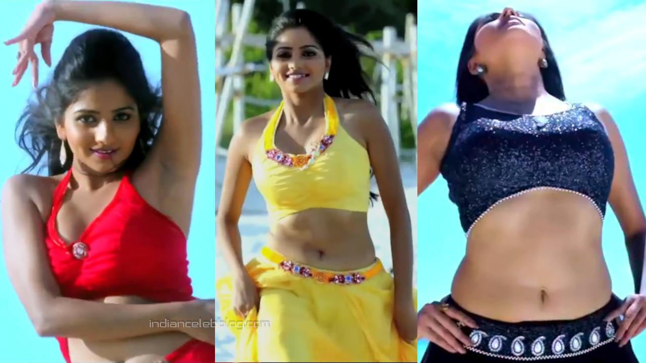 Rachita ram kannada actress hot navel song hd caps