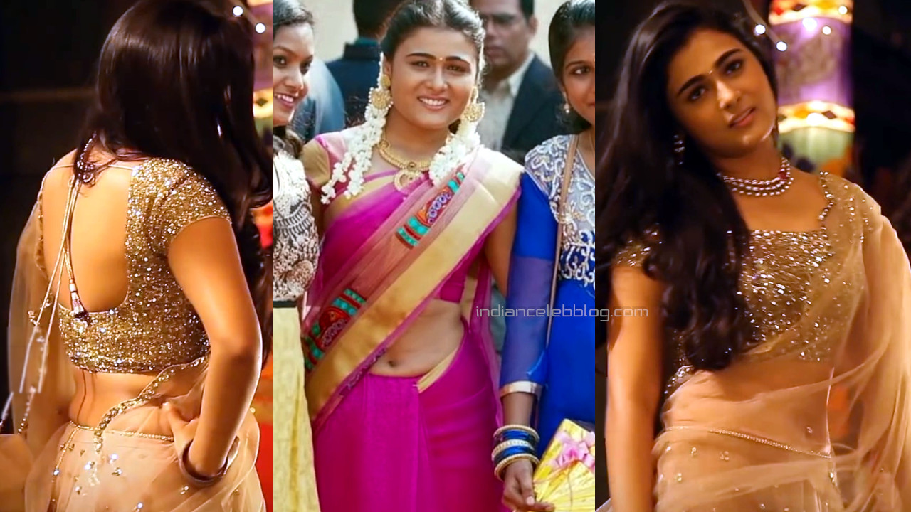 Shalini pandey telugu actress hot sari midriff pics caps