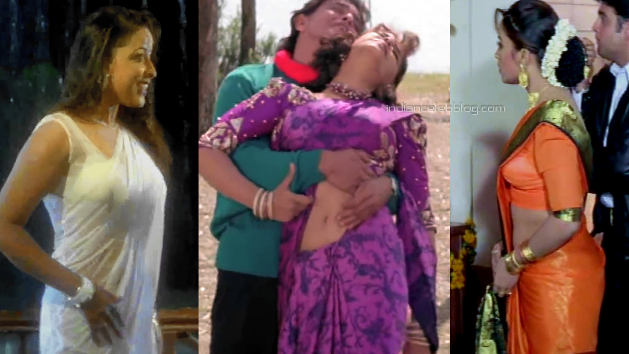 Suvarna mathew mallu actress hot saree caps from hindi film