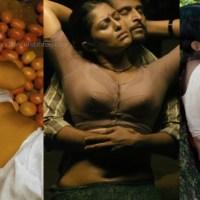 Vinutha lal mallu actress hot sareeless navel show stills hd caps