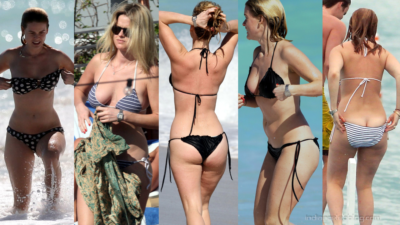 Alice eve miami beach bikini paparazzi candid photos