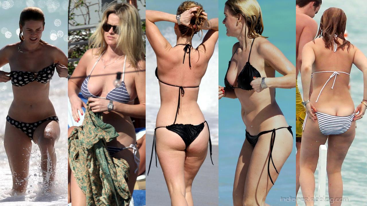 Alice eve miami beach bikini paparazzi candid photos