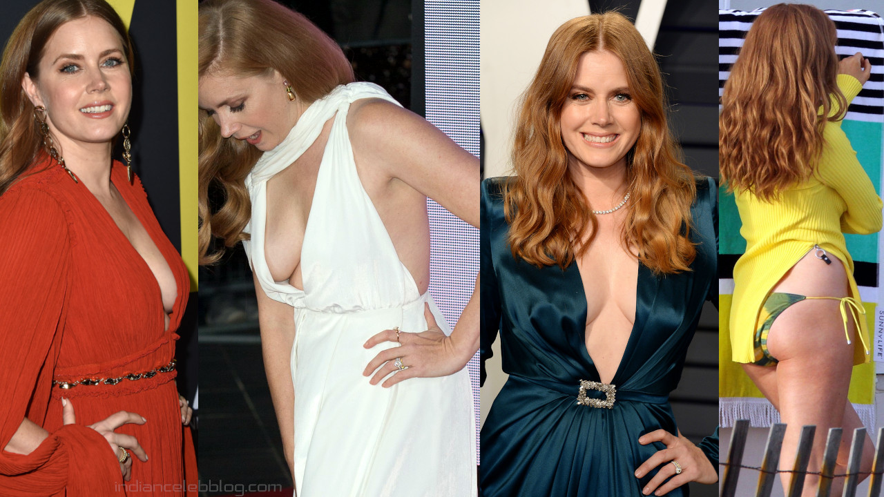 Amy adams hollywood hot cleavage Red carpet event photos