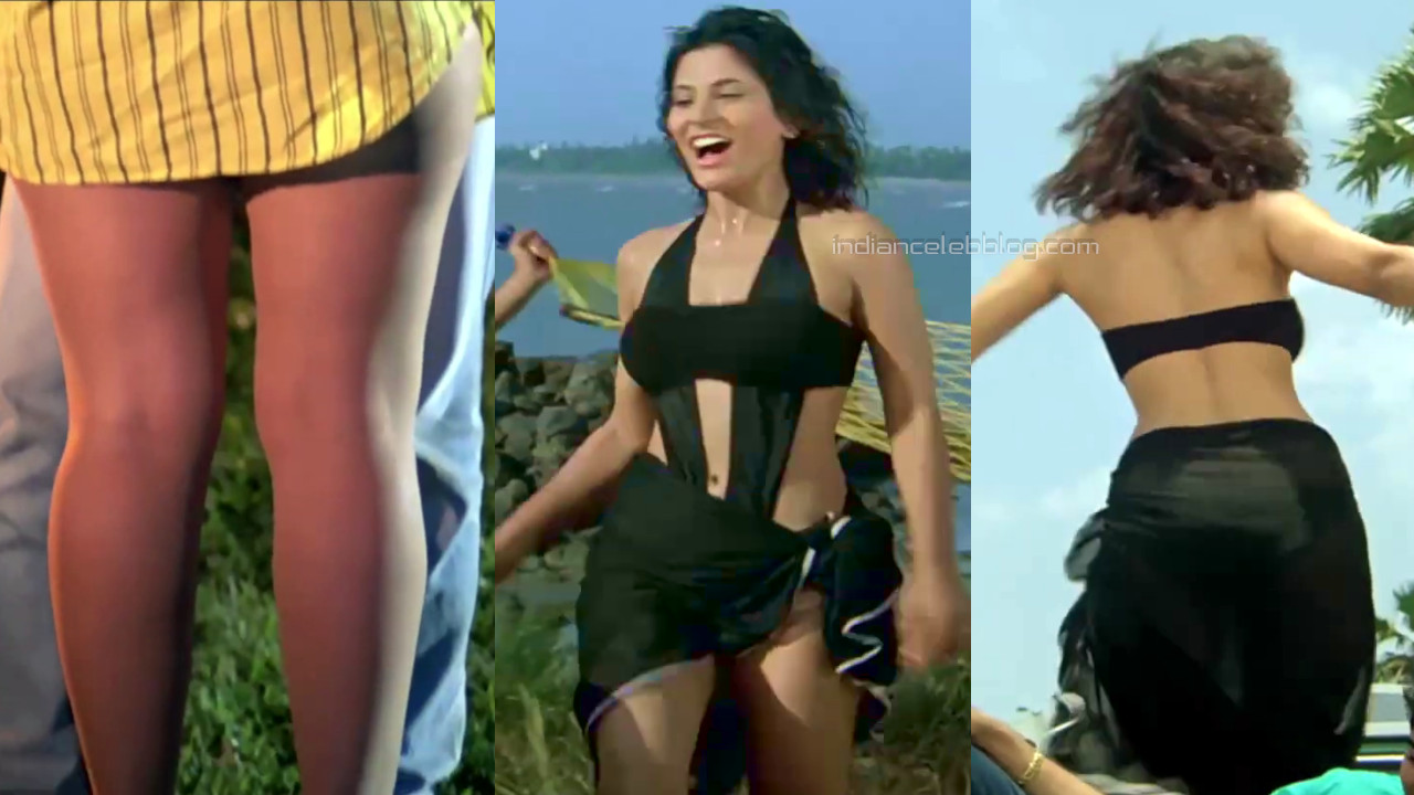 Archana puran singh hot swimsuit song hd caps pics