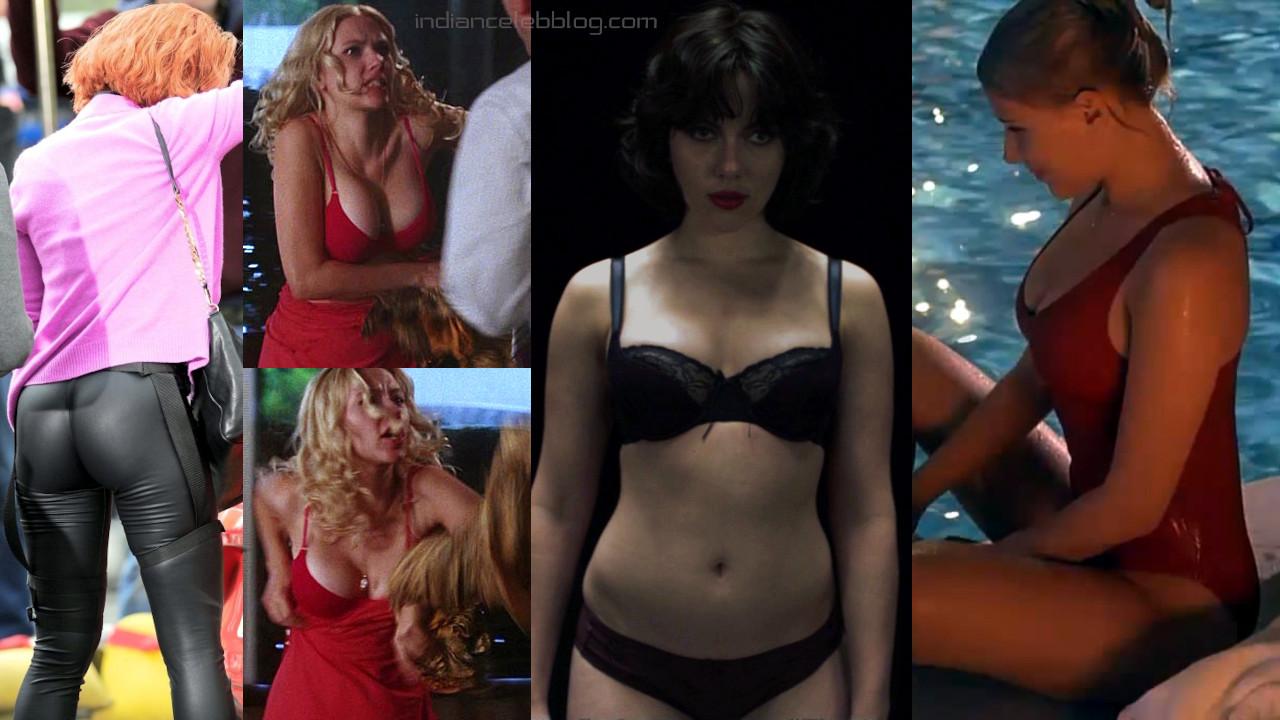 Scarlett johansson sexy lingerie swimsuit pics hd screencaps