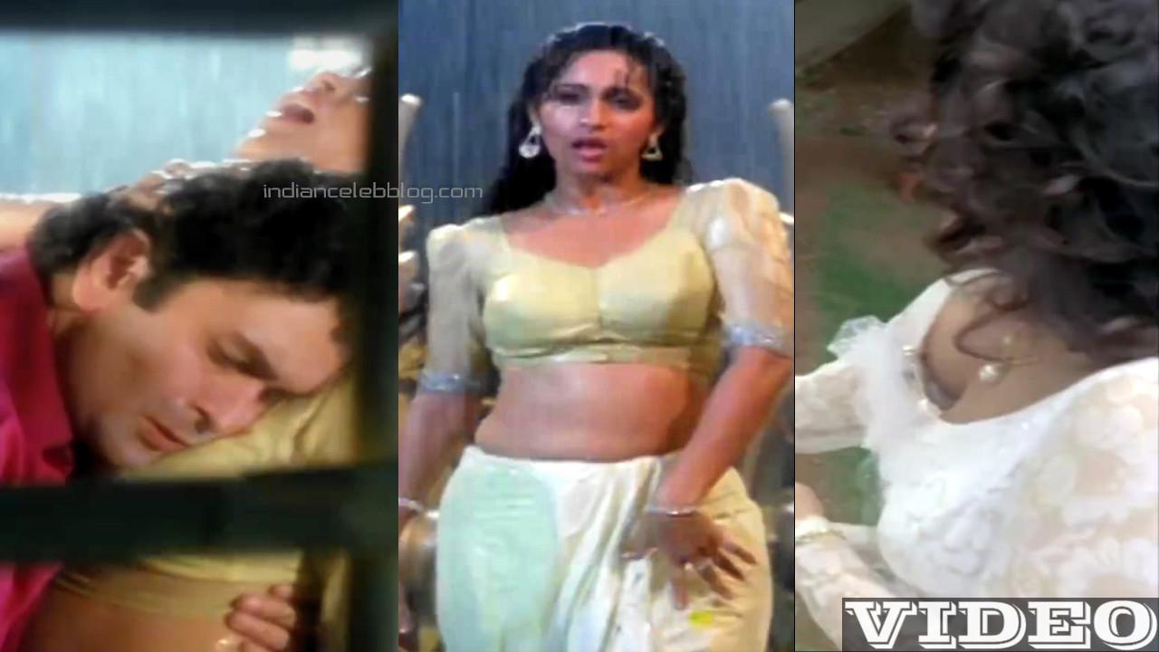 Ashwini bhave bollywood hot saree rain song Video mix