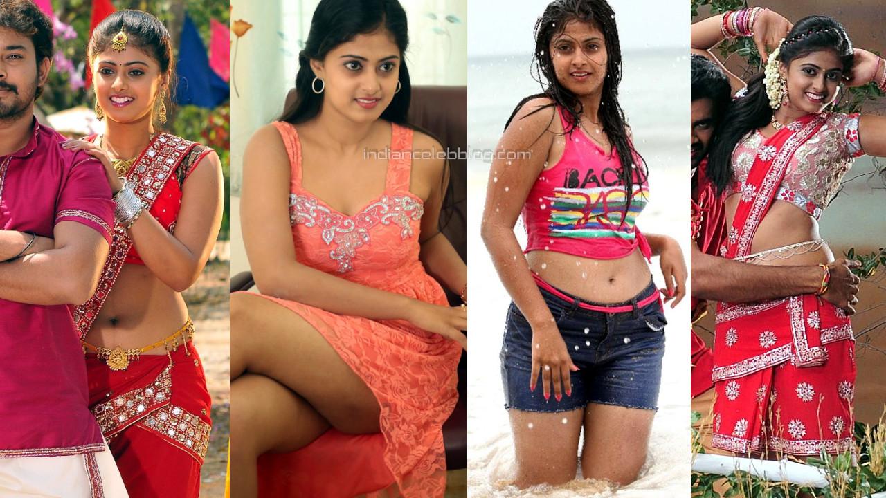 Meghashree south indian actress hot navel show pics gallery