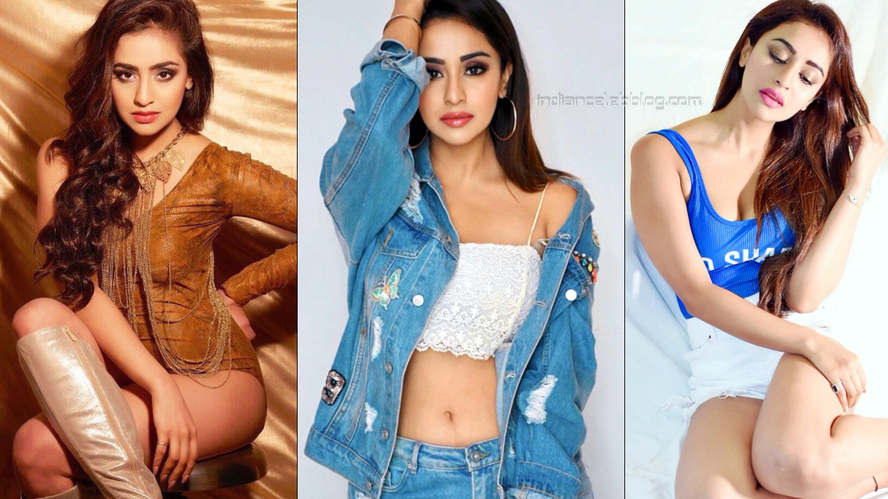 Musskan sethi telugu actress hot cleavage show social media photos