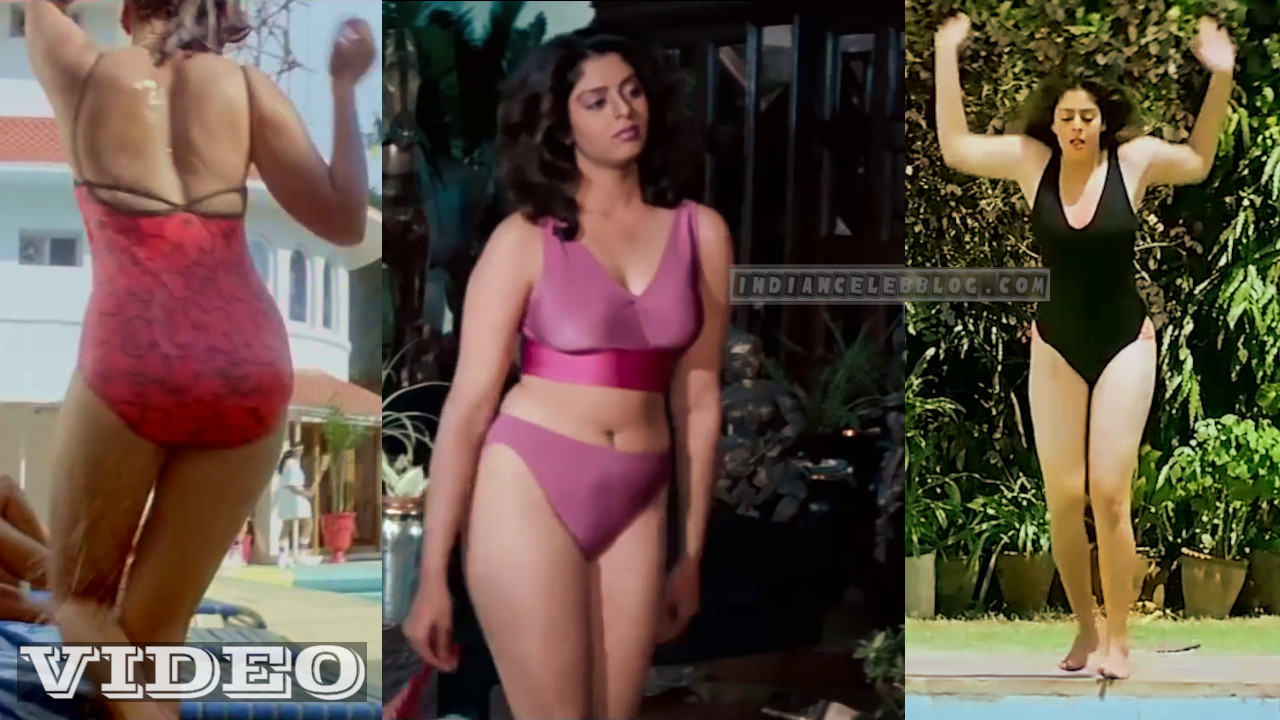 Nagma hot sexy swimsuit bikini scenes Video mix