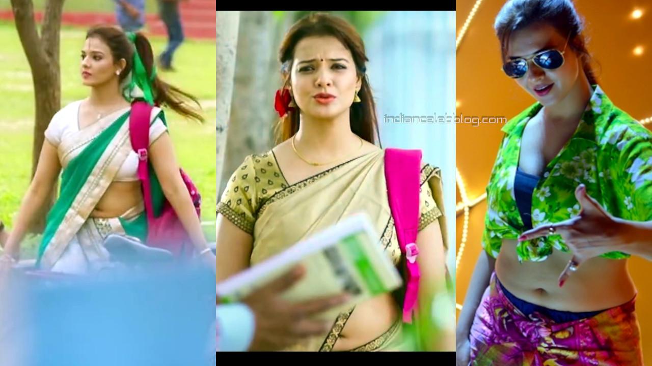 Saloni aswani telugu actress sexy navel show in half saree hd caps